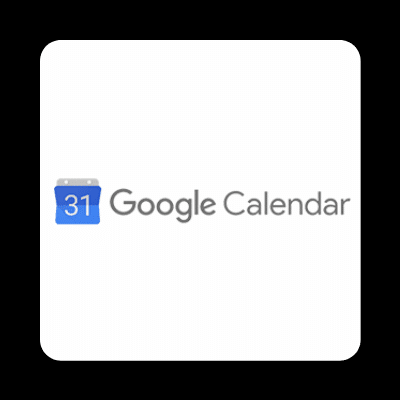 Google Calender integration