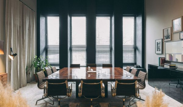 Office at Lammp - Fosbury & Sons